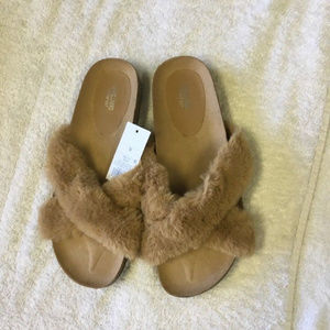 38eb764948422d Mossimo Supply Co. Shoes - Mossimo Supply Co.™ Bella Faux Fur Foot Sandal